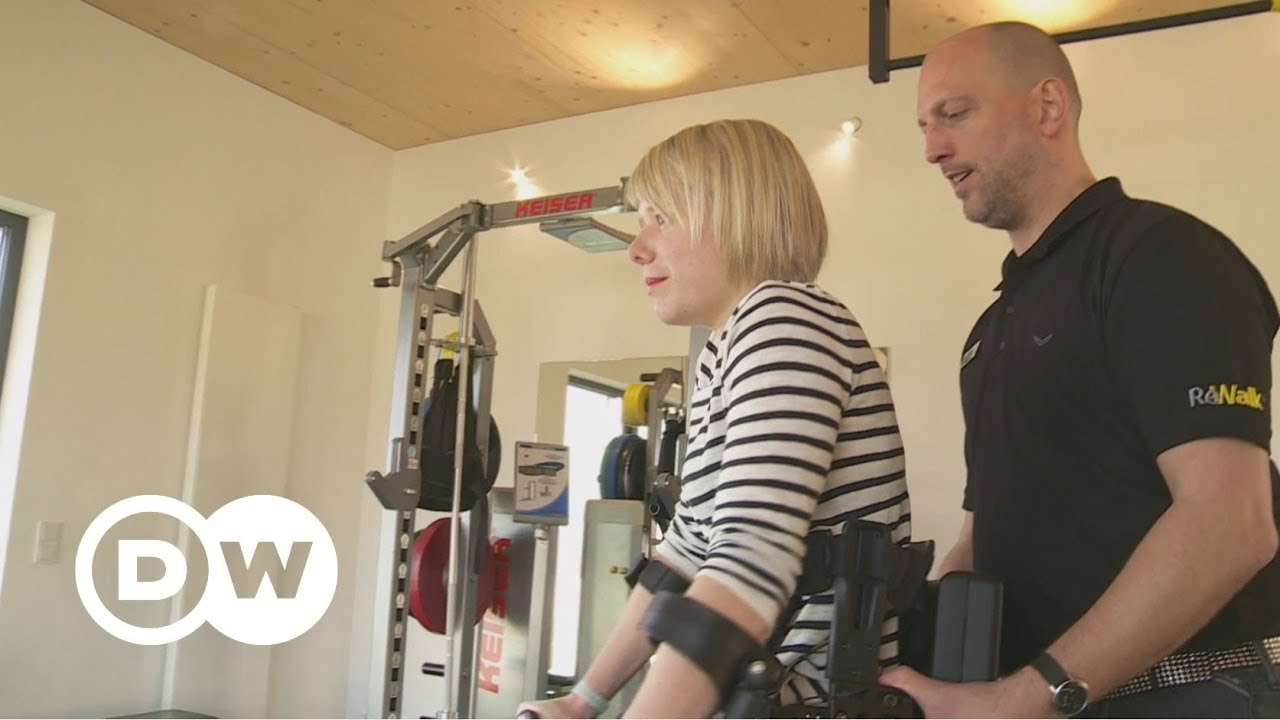 Learning how to walk with an exoskeleton | DW Documentary