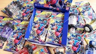 ボトルマッチ弾にパック版が発売!1BOX6000円分を20パック一気に開封レビュー!ガンバライジング ベストマッチパック 仮面ライダービルド