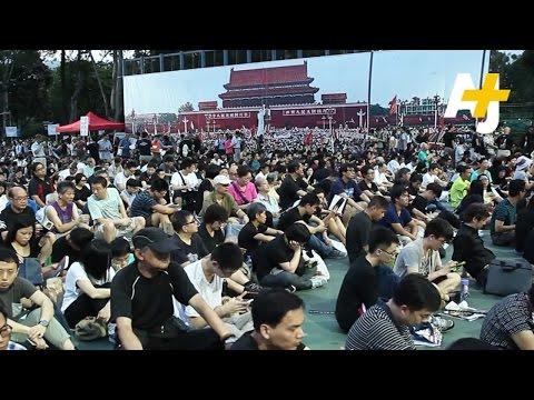 Hong Kong Remembers Tiananmen Square