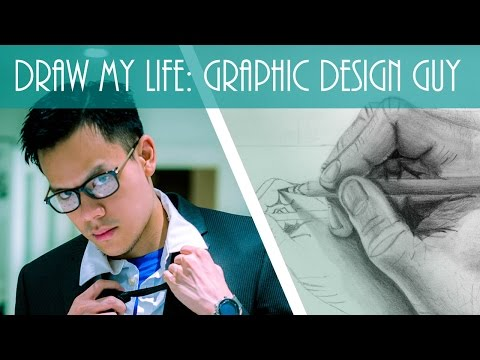 Draw My Life: Graphic Design Guy