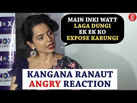 Kangana Ranaut -  I Will EXPOSE Everyone Who Has Ganged Up Against  'Manikarnika'