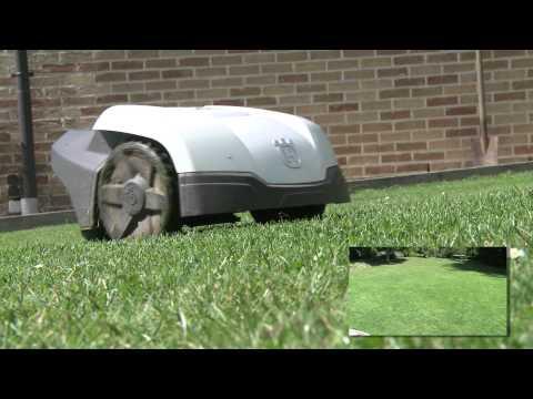 inbetriebnahme des rasenm her roboter husqvarna automow doovi. Black Bedroom Furniture Sets. Home Design Ideas