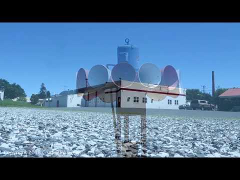 Biglerville, PA FS STH-10A Siren Test- Attack/Fire- 7-7-18
