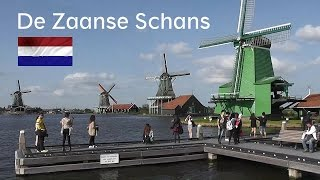 HOLLAND: Windmills of the 'Zaanse Schans' [HD]