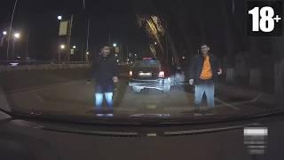 Неадекватные быдло водители #5