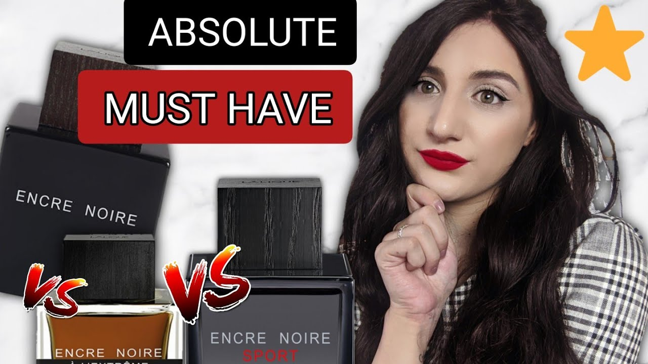 BEST CHEAP FRAGRANCE LINE for MEN EVER !?  || Lalique encre noire VS Sport VS Extrême