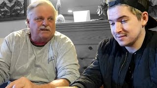 WATCHING Cow Chop With My GRANDFATHER