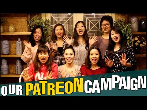 Our PATREON Campaign