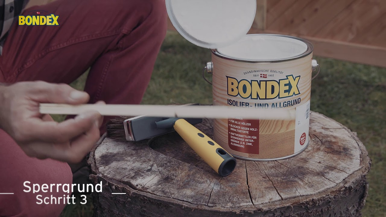 Natur Bondex Naturholzpaste 120 g
