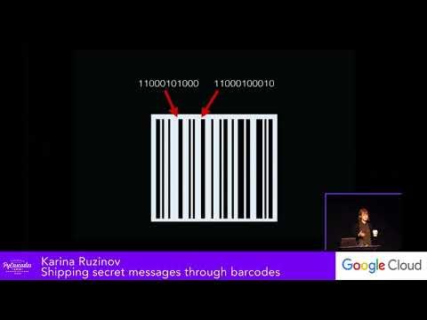 Karina Ruzinov: Shipping secret messages through barcodes