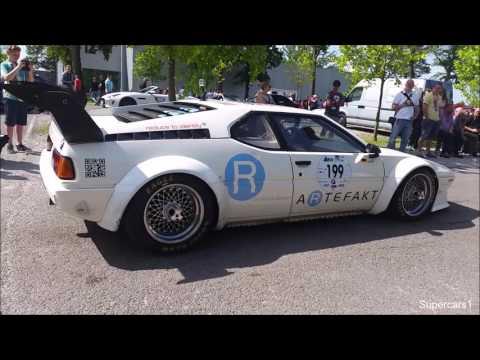 Germanys Supercar Rally 2016 - McLaren P1, BMW M1, 100HP RS4, Aventador SV etc.