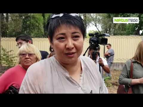 Асель Кодуранова и Ирина Карамушкина встретились в СИЗО ГКНБ с Алмазбеком Атамбаевым