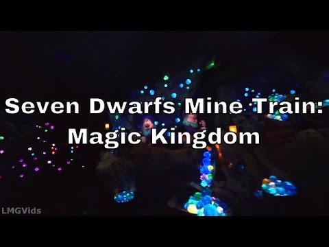 [HD] *Low Light Seven Dwarfs Mine Train ride Walt Disney World 1080p 60fps