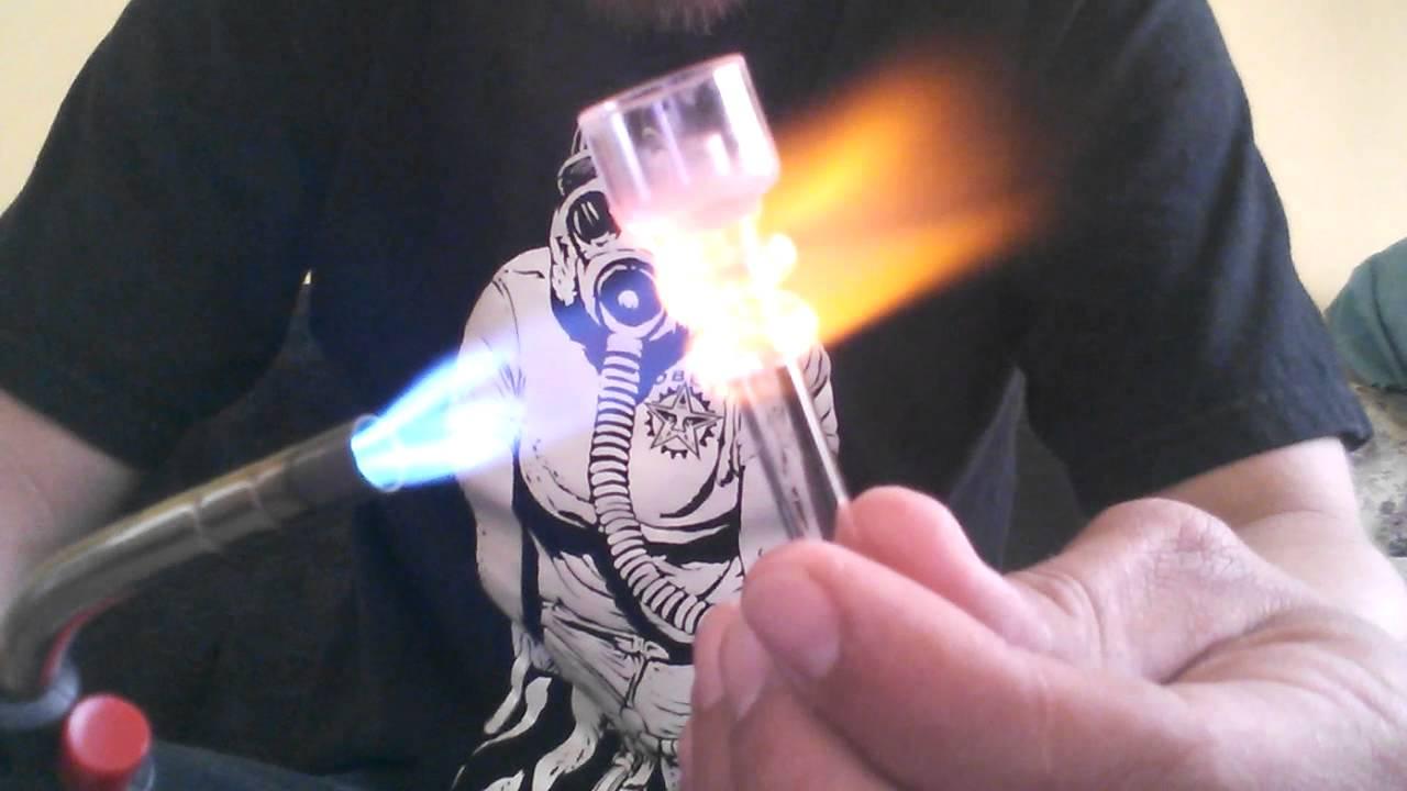 domeless nail heat test (quartz) - youtube