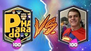 Video Paradoha VS Bazya Game! ОЧЕНЬ ПОТНОЕ ПВП ЮТУБЕРОВ! Clash Royale download MP3, 3GP, MP4, WEBM, AVI, FLV Januari 2018