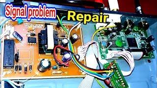 DD Free Dish Setupbox Reciver no Signal Problem Fault  Repair.