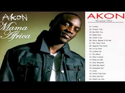 Akon Greatest Hits Full Album--The Best Songs Of Akon ...