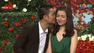 Chàng trai Bắc Giang hạnh phúc khi hôn cô giáo Hải Phòng cực kỳ duyên dáng ngay sk BMHH 😍