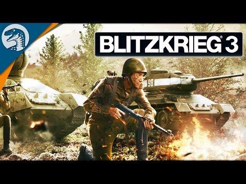 EARLY WAR SOVIET DEFENSE 1941   Blitzkrieg 3 Campaign Gameplay