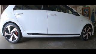 homepage tile video photo for 2018 VW GTI SE Ep.217: VinylMod Side Stripes Arrive!
