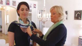 How to Wear a Square Scarf- Fashion & Beauty- ModernMom