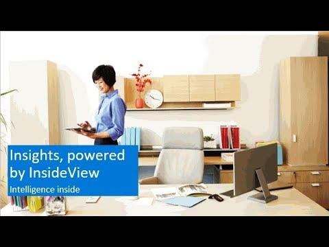 What is Insights, powered by InsideView