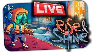 СТРИМ: RISE & SHINE (ПОЛНОЕ ПРОХОЖДЕНИЕ ЧАСТЬ 2) ツ