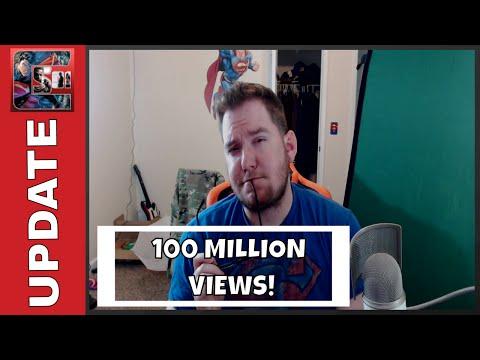 100 MILLION VIEWS - Channel Update / Livestream Tonight on Mixer