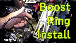 Land Rover 200 or 300Tdi Boost Ring installation.