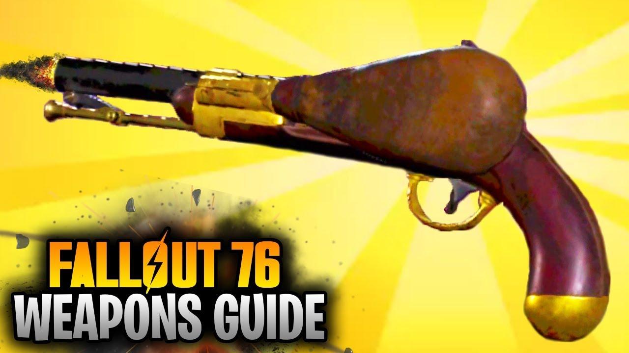 single action revolver fallout 76