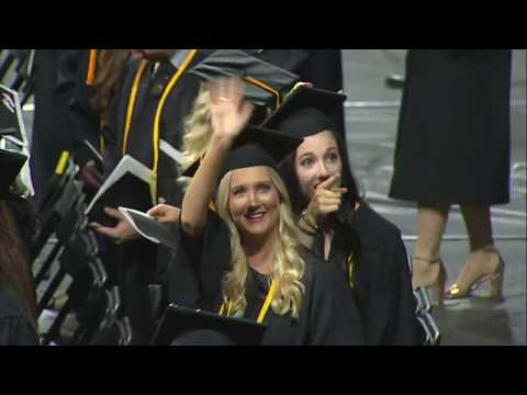 2018 Spring Commencement - College of Education / College of Health Professions
