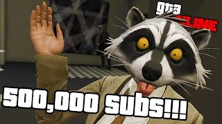500,000 SUBS SPECIAL! MUCH WOW! || GTA 5 Online || PC