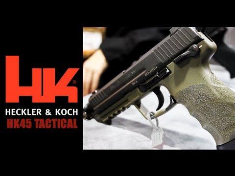 HK45 Tactical Pistol