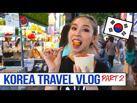 SOUTH KOREA / SEOUL TRAVEL VLOG Part 2 | Makeup & Food Heaven!