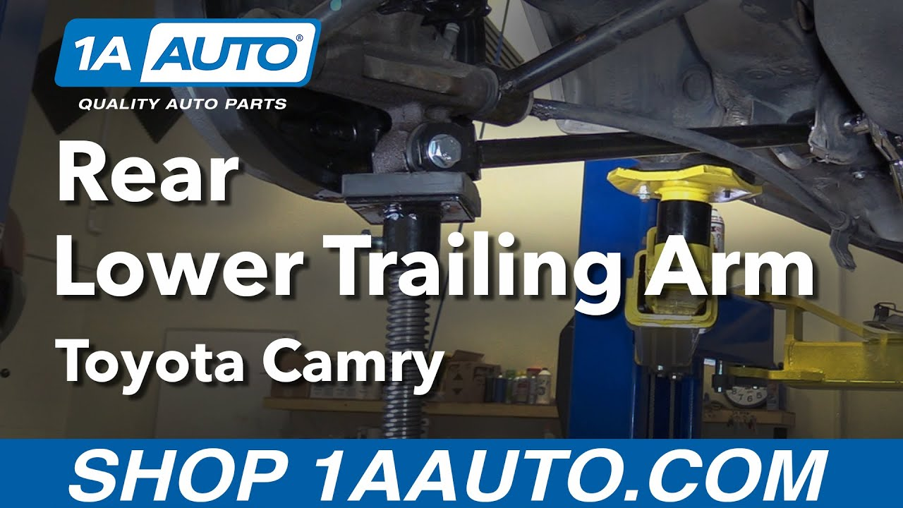 hight resolution of how to replace lower trailing arm 92 01 toyota camry