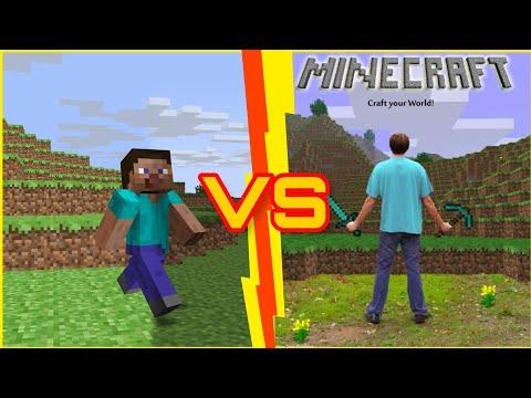 Minecraft против реальной жызни