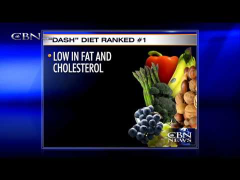 'DASH' Diet Rated Best Overall For Health