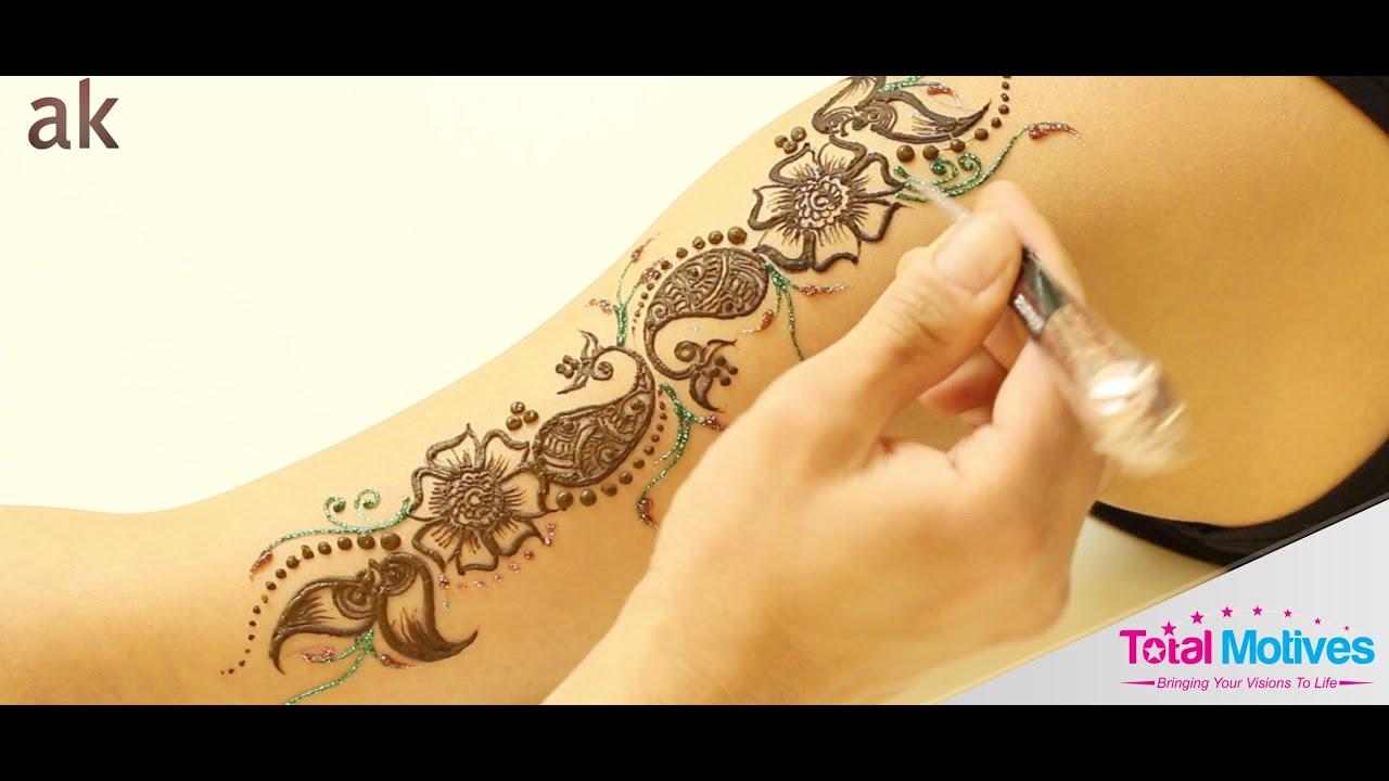 Mehndi Patterns By Ash Kumar : Ash kumar design stencils kit youtube