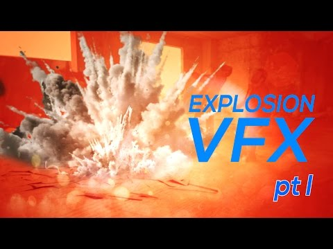 Epic Realistic Explosion VFX - After Effects Tutorial [pt I]