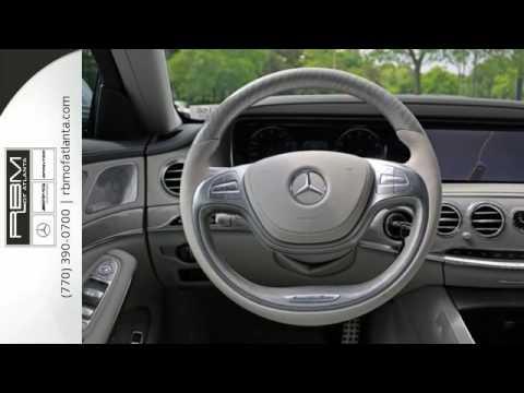 New 2016 mercedes benz s class atlanta ga sandy springs for Mercedes benz sandy springs