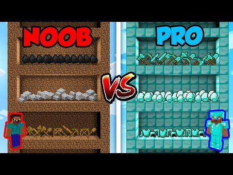 Minecraft NOOB vs. PRO: SKYSCRAPER in Minecraft!