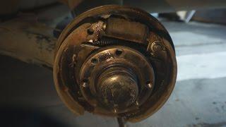 Тормоза Лада Калина 21117.  Разборка и ремонт.