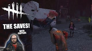 THE SAVES! with Puppers | Dead By Daylight LEGACY SURVIVOR