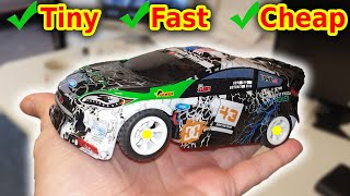 Tiny FAST Professional RC Rally Car