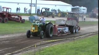 Oliver Super 99 Detroit Diesel Tractor Pull