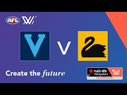 Vic Metro vs Western Australia - NAB AFL Women's Under 18 Ch