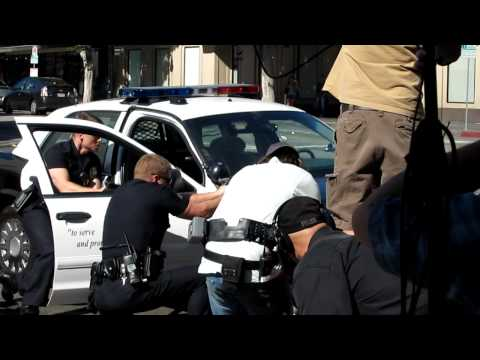SouthLAnd being shot in Hollywood