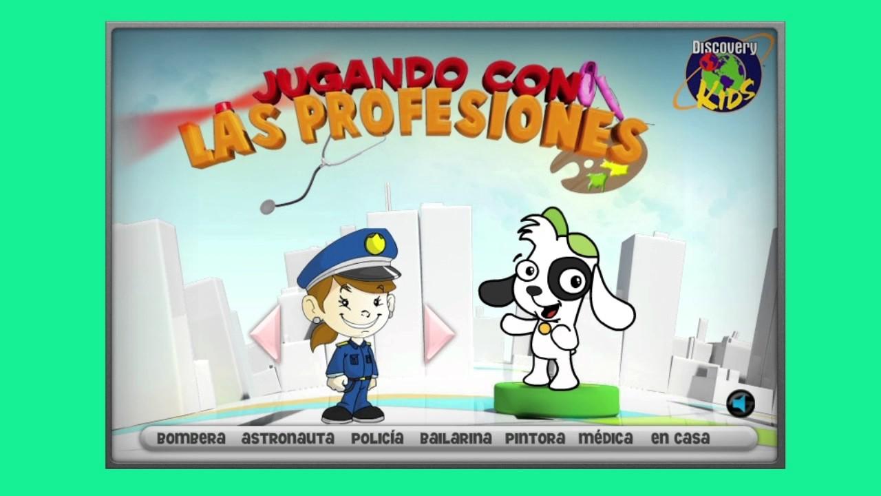 Doki Jugando Con Las Profesiones Parte Uno Discovery Kids Youtube