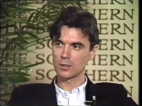 Sounds: Donnie interviewing David Byrne of Talking Heads (1984)