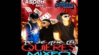 Falsetto & Sammy Ft Ñengo Flow - Yo Se Que Tu Quieres  Dj Cotto Ft Asper Mix